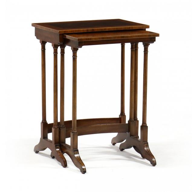 henredon-nest-of-two-tables