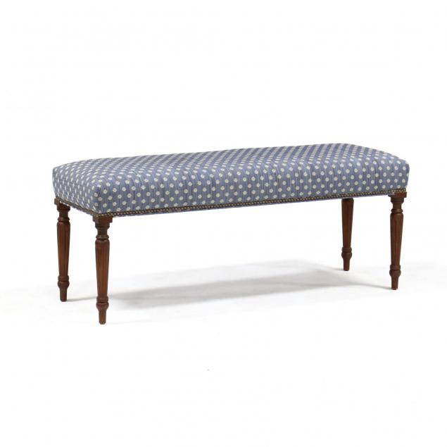 federal-style-upholstered-bench