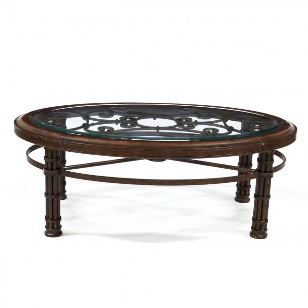 contemporary-metal-and-glass-coffee-table