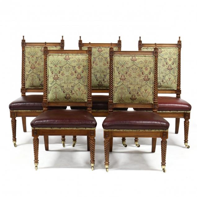 set-of-five-continental-style-dining-chairs