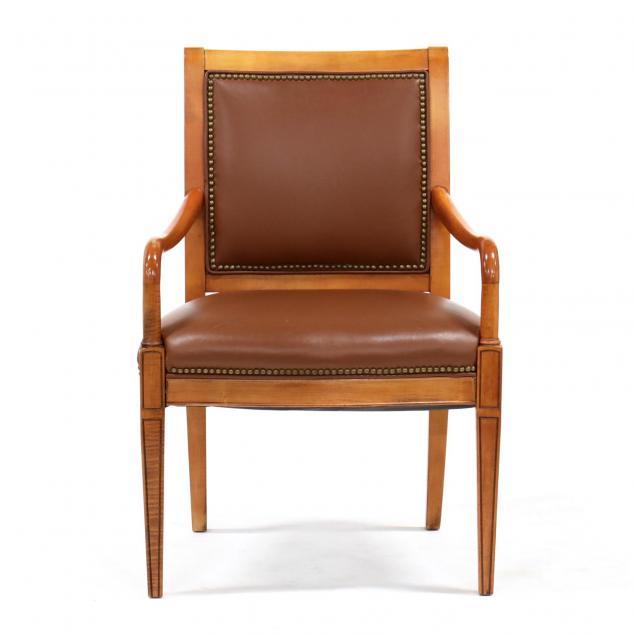 contemporary-biedermeier-style-arm-chair