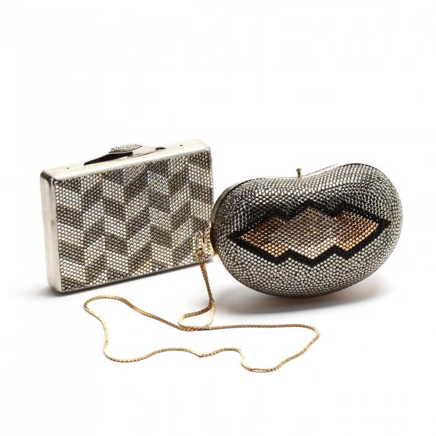 two-vintage-evening-bags-judith-leiber-and-delill