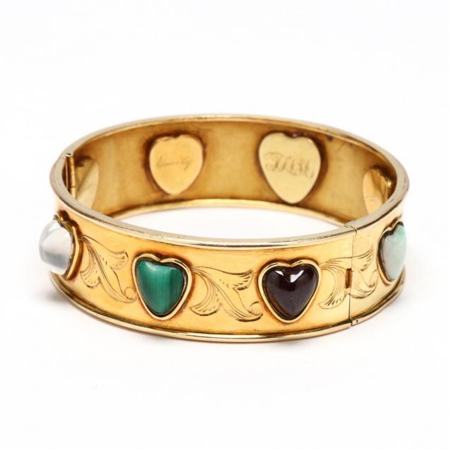 victorian-gold-and-gem-set-bracelet