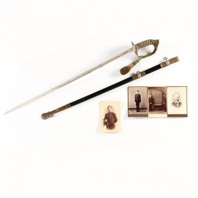 naval-artifact-grouping-from-dr-joseph-janvier-woodward-s-descendants