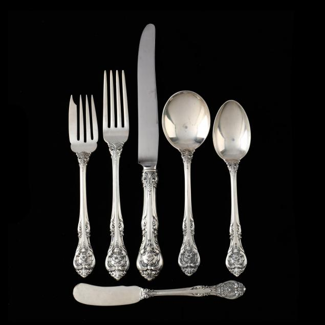gorham-king-edward-sterling-silver-flatware-service