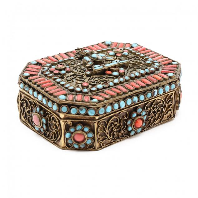 a-tibetan-or-nepalese-filigree-and-inlay-box