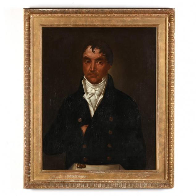 an-antique-portrait-of-a-french-man-circa-1800