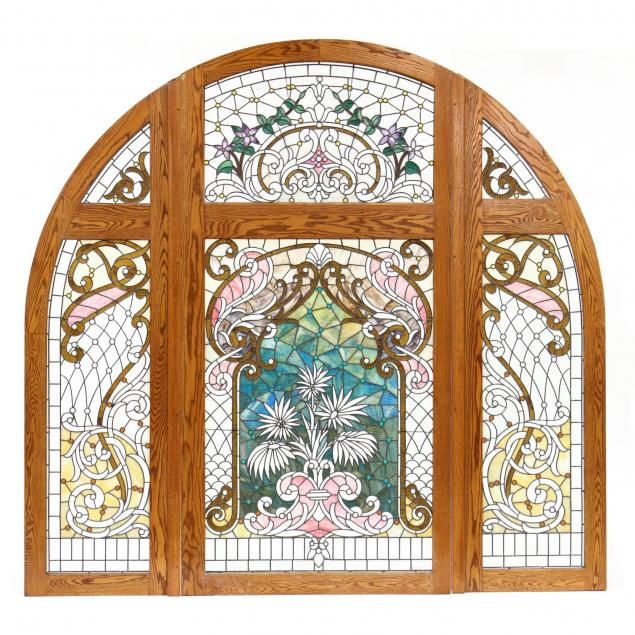 monumental-stained-glass-arched-window