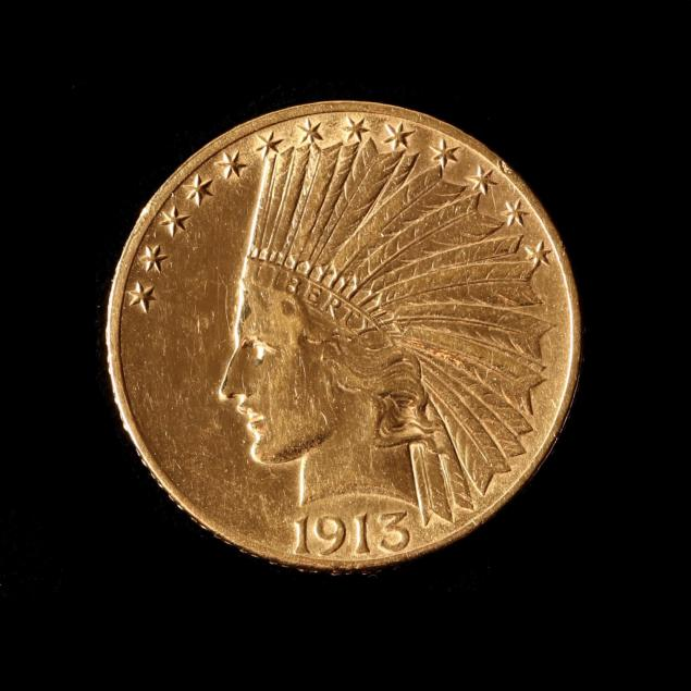 1913-10-gold-indian-head-eagle