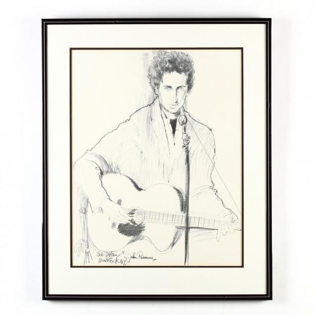 a-framed-portrait-print-of-bob-dylan-at-woodstock