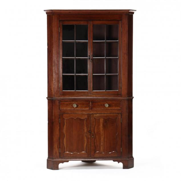 southern-chippendale-cherry-corner-cupboard