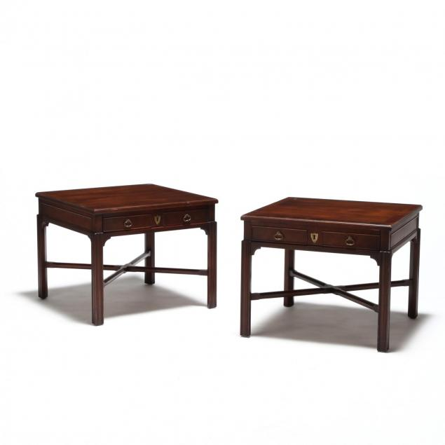 drexel-heritage-pair-of-chippendale-style-one-drawer-stands