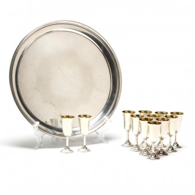 a-sterling-silver-drinks-tray-with-cordials