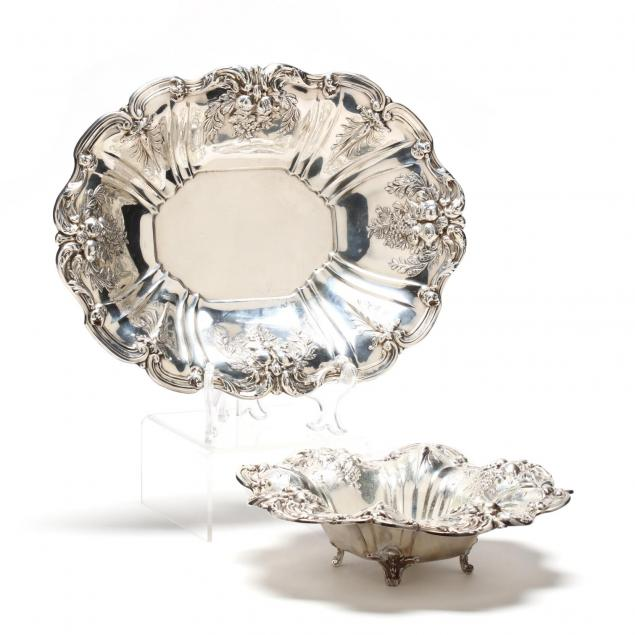 two-reed-barton-francis-i-sterling-silver-bowls