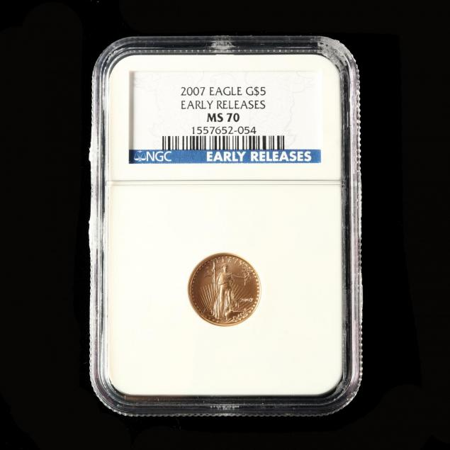 2007-american-gold-eagle-5-ngc-early-releases-ms70