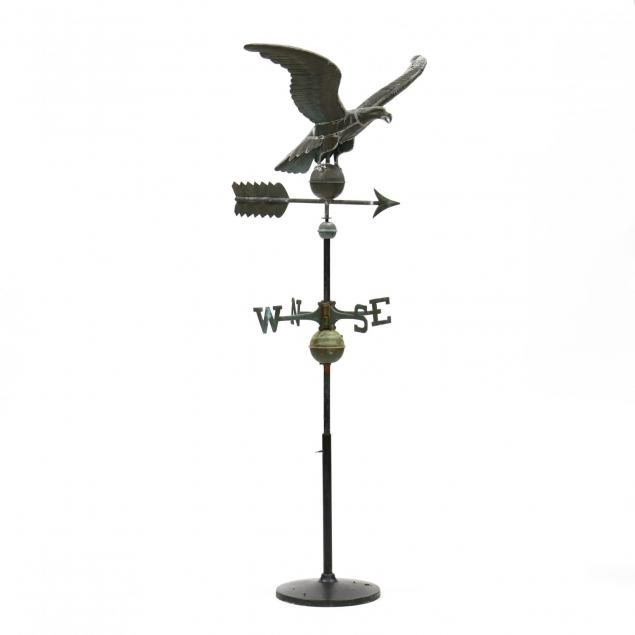 copper-hollow-bodied-eagle-weathervane
