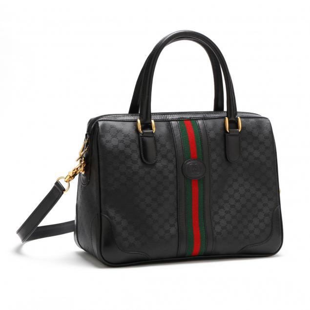 black-canvas-convertible-handbag-web-line-by-gucci