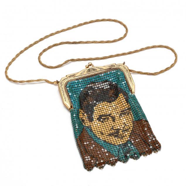 a-portrait-enameled-metal-purse-whiting-davis