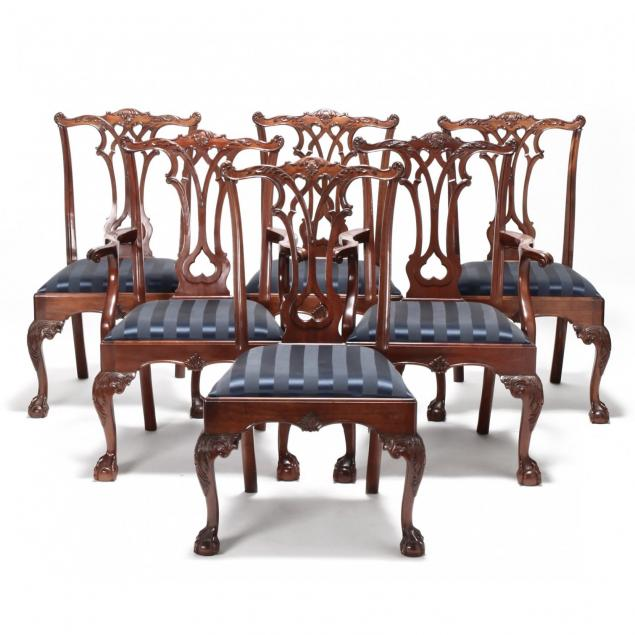 stickley-set-of-six-chippendale-style-dining-chairs