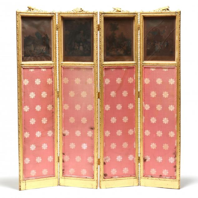 louis-xv-style-diminutive-carved-and-gilt-folding-screen