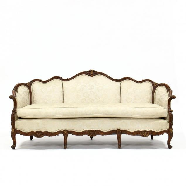 french-provincial-style-carved-walnut-sofa