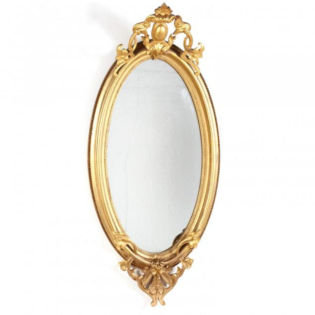 antique-carved-and-gilt-classical-looking-glass
