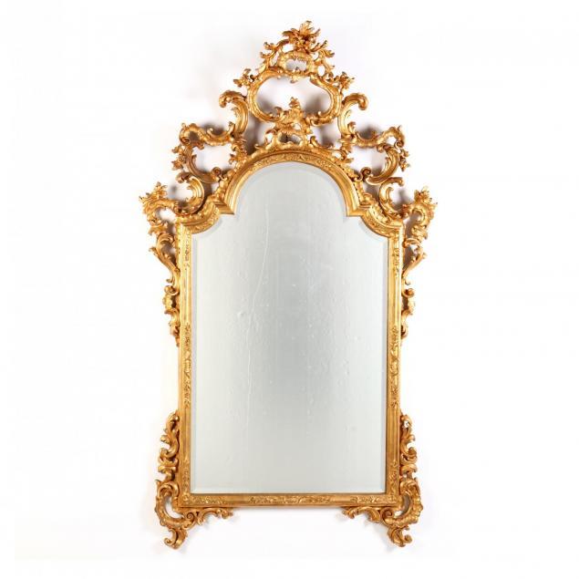 chelini-giovannini-rococo-six-foot-gilt-mirror
