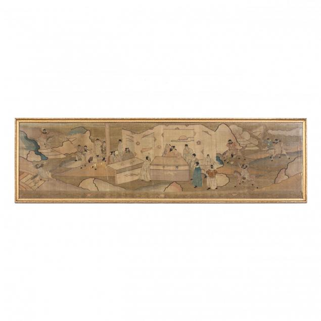 a-chinese-qing-dynasty-framed-kesi-embroidery-panel