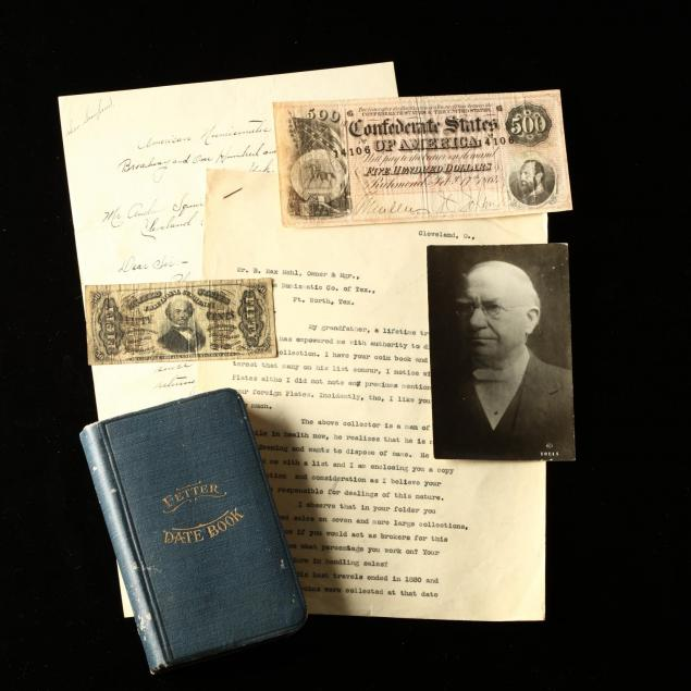 kentucky-mason-s-numismatic-archive-confederate-currency-and-journals