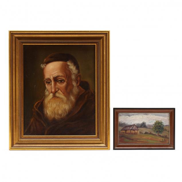 two-vintage-continental-school-paintings