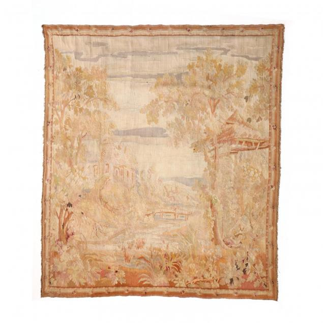 antique-french-aubusson-tapestry