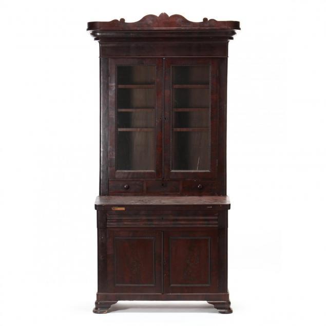att-thomas-day-mahogany-secretary-bookcase