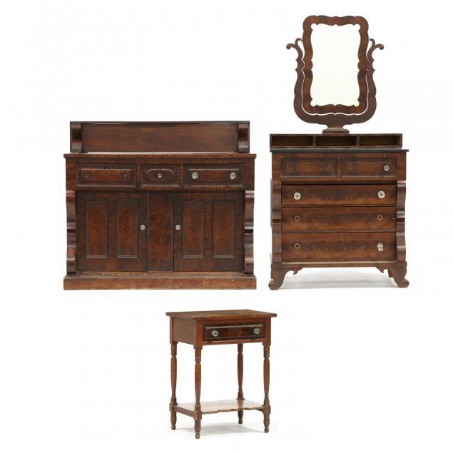 three-piece-set-matching-dresser-sideboard-and-side-table