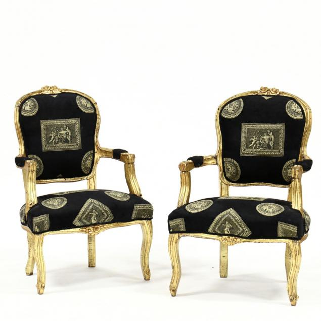 pair-of-louis-xv-style-carved-and-gilt-fauteuil