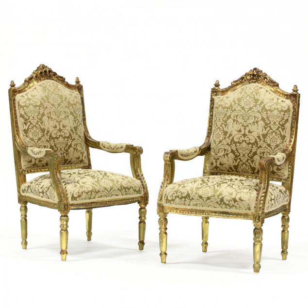 pair-of-louis-xvi-style-carved-and-gilt-fauteuils