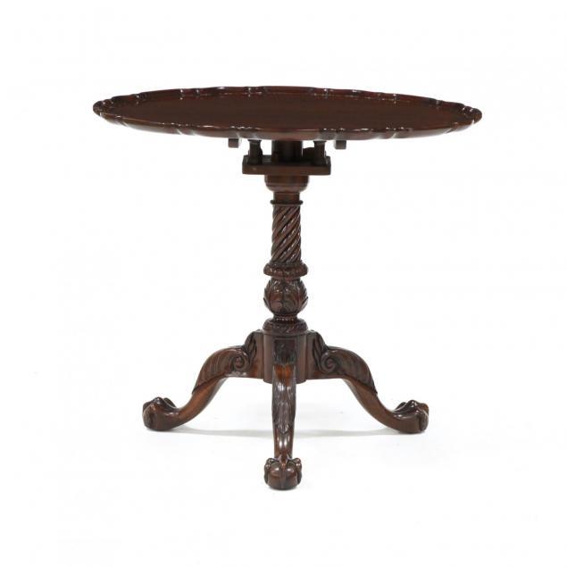 chippendale-style-tilt-top-tea-table