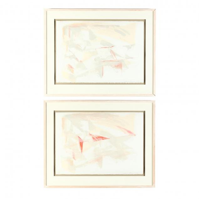 catherine-shuman-miller-ny-pair-of-mixed-media-works