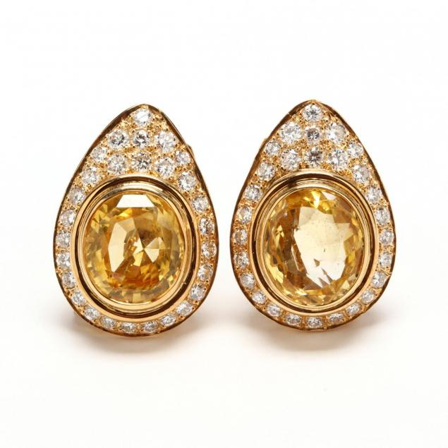 18kt-gold-yellow-sapphire-and-diamond-ear-clips-lilli