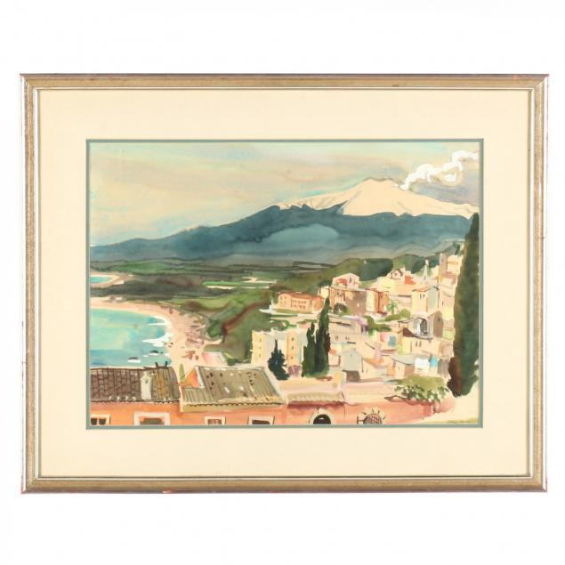 philip-moose-nc-1921-2001-coastal-mediterranean-view