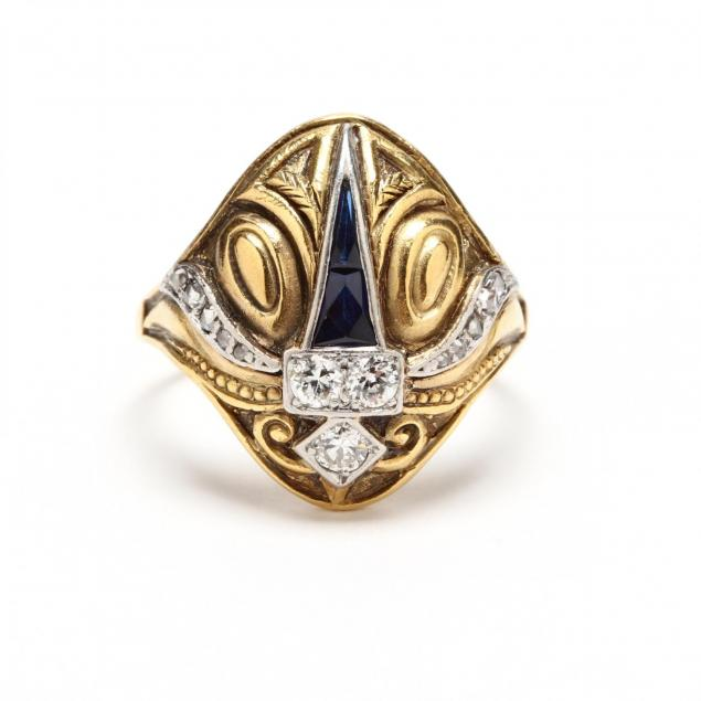 gold-diamond-and-sapphire-ring-cozzolino