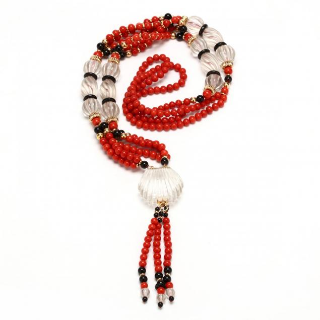 rock-crystal-coral-onyx-and-diamond-necklace