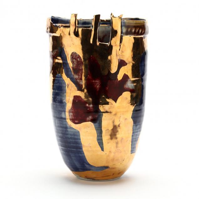 sally-bowen-prange-wainwright-nc-1927-2007-edgescape-vase