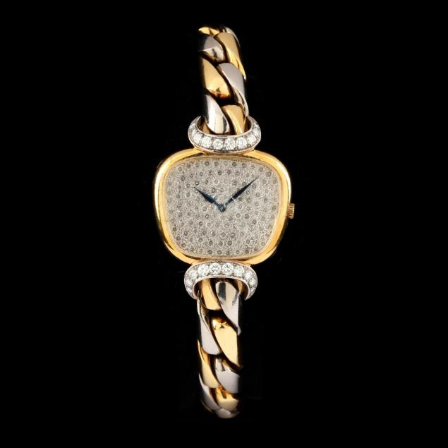 lady-s-18kt-two-color-gold-and-diamond-watch-piaget