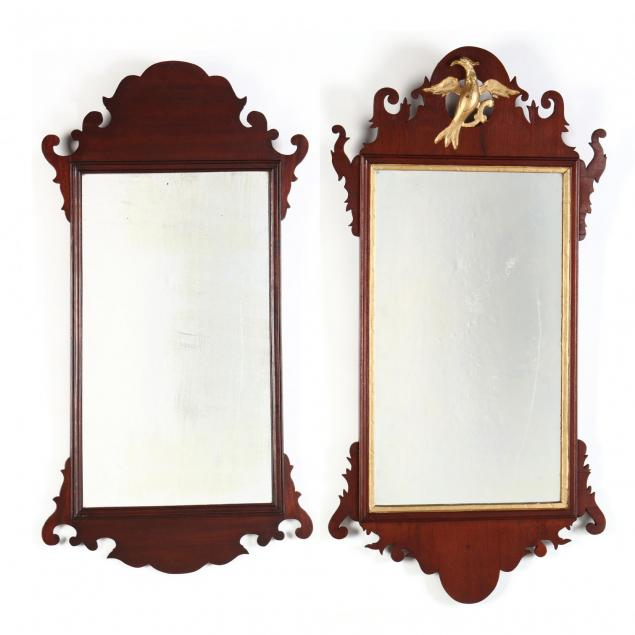two-chippendale-style-mirrors