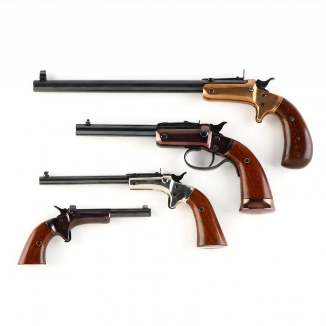 set-of-four-j-stevens-tip-up-pistols