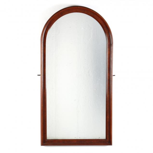 antique-mahogany-tombstone-mirror