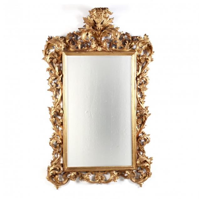 large-italian-carved-and-gilt-wall-mirror