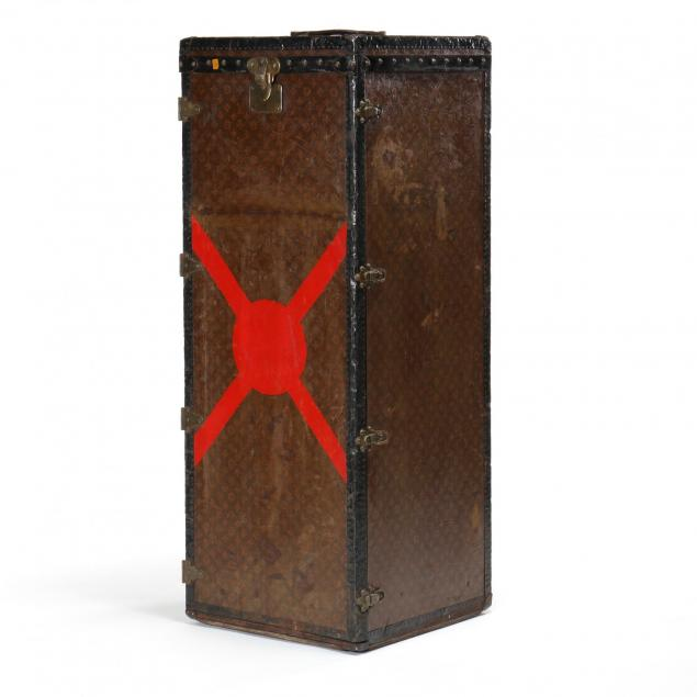 antique-wardrobe-steamer-trunk-louis-vuitton