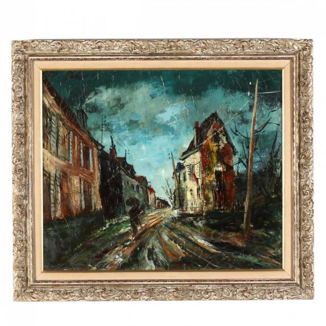a-mid-century-expressionist-streetscape-painting