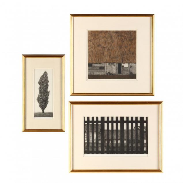 three-etchings-by-ryohei-tanaka-japanese-b-1963